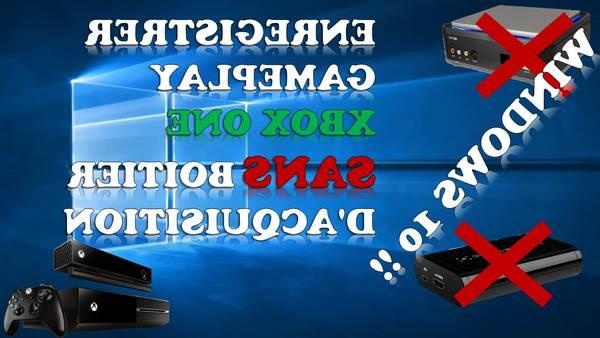 Boitier d'acquisition xbox one ou boitier d'acquisition ps4